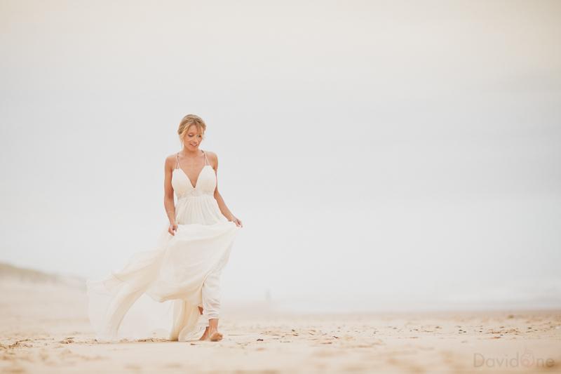 {Shooting déco mariage} Surf Inspiration Robe & Beauté (part 3/5)