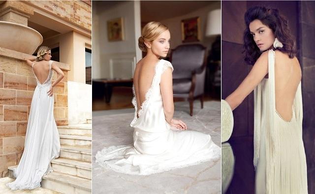 {Collection 2014} 10 Robes de Mariée décolletées dans le dos