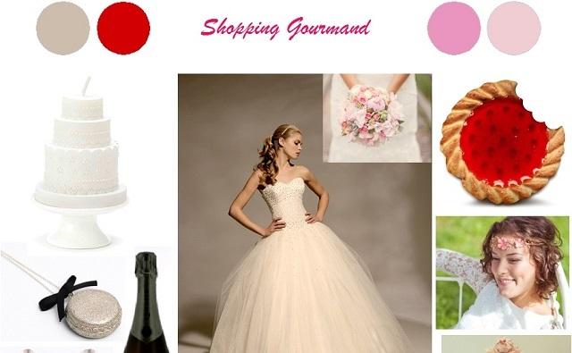 {Inspiration} Shopping Mariage Gourmand