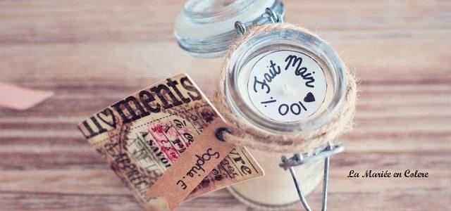 Mariage petit budget : des bougies pour vos invités