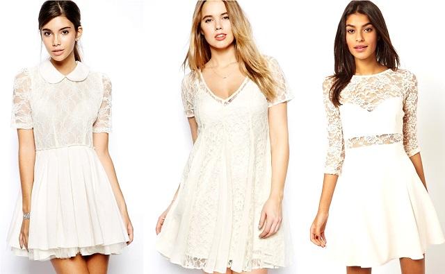 10 robes en dentelle à moins de 50 €