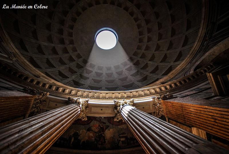 Rome en 5 jours panthéon inter