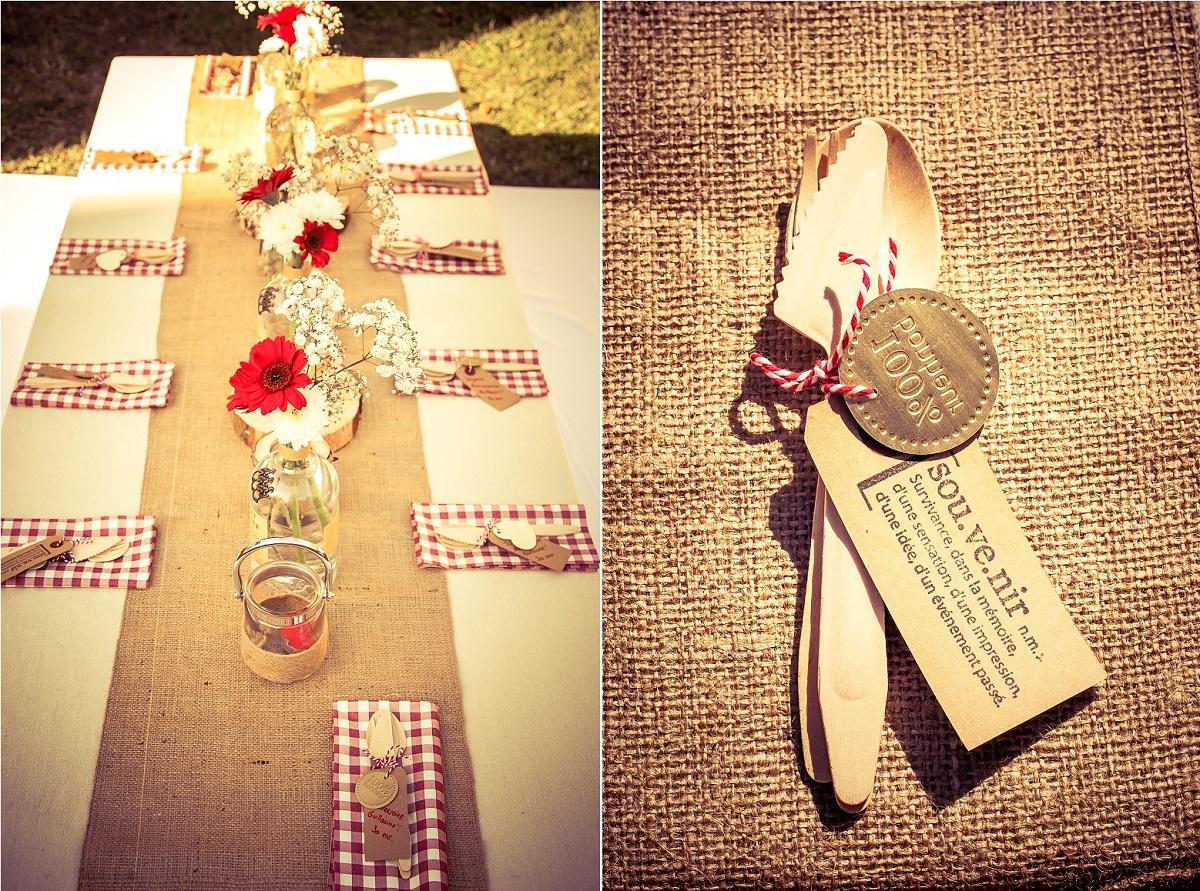 Inspiration : une décoration rustique, décoration mariage rustique