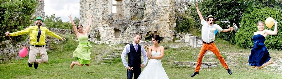 mariage multicolore