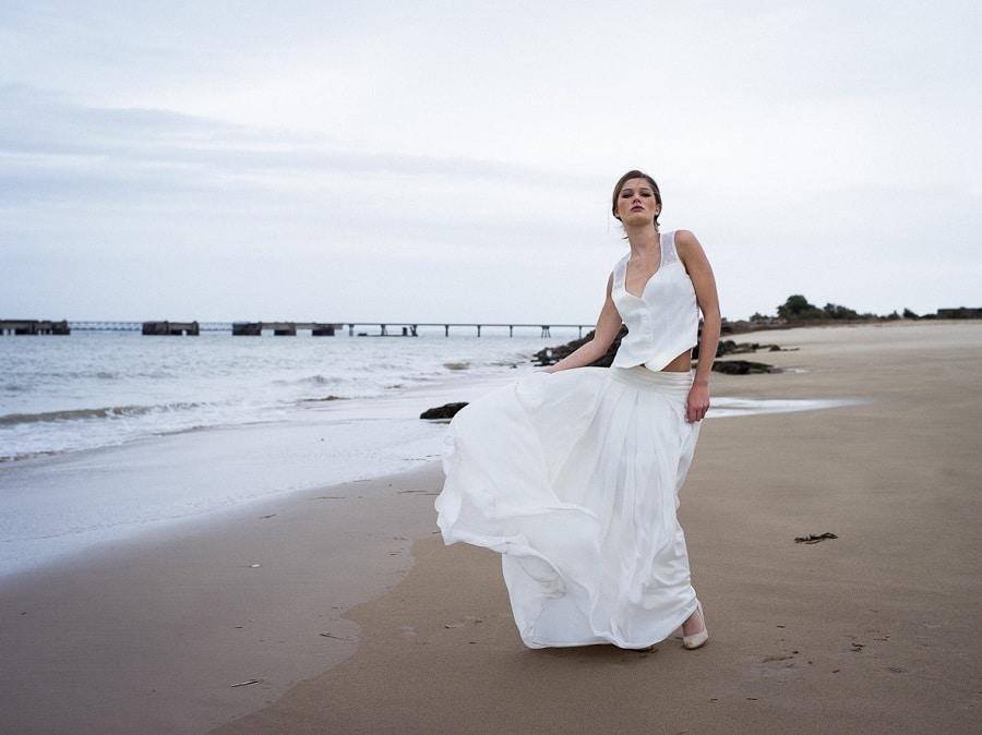 confidentiel création robe de mariée sur mesure