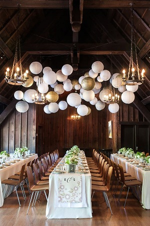 tendance déco mariage lampions, décoration mariage, mariage original, 5 tendances deco mariage à adopter