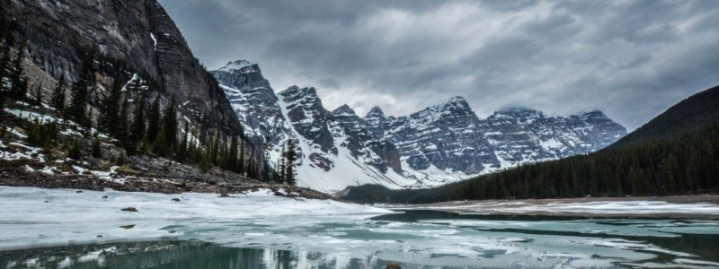Lake Moraine banff NP