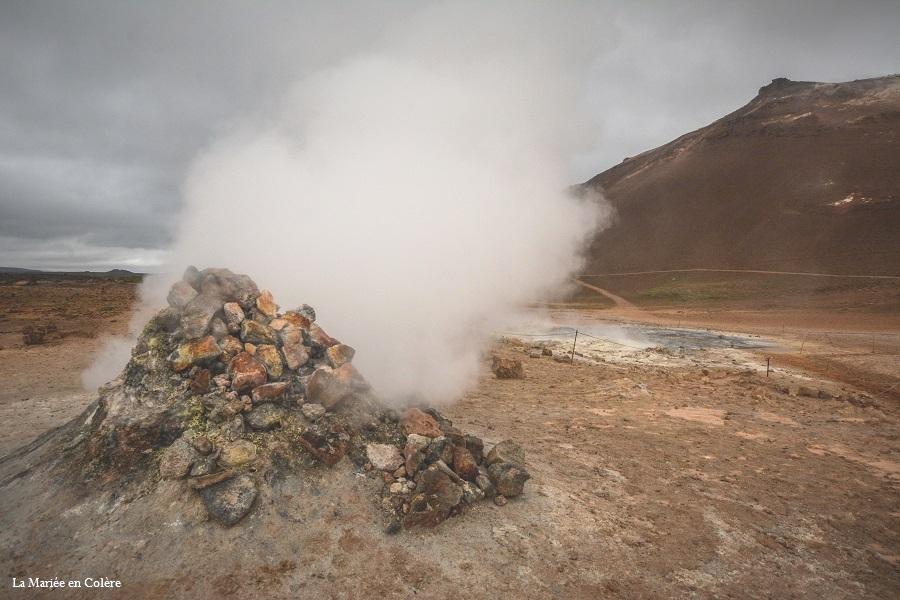 Myvatn Islande hverir