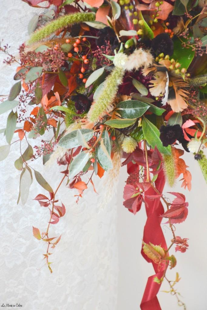 bouquet de mariée automne