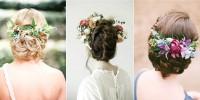 Coiffure de mariée : 10 chignons fleuris