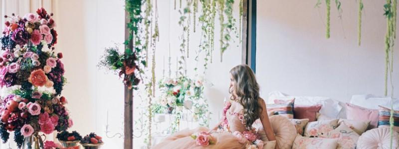 mode mariage fleuri