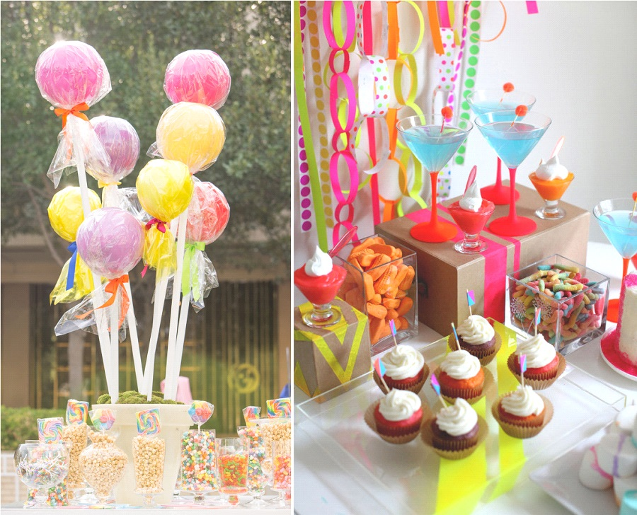 decoration candy bar