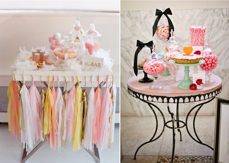 candy bar décoration