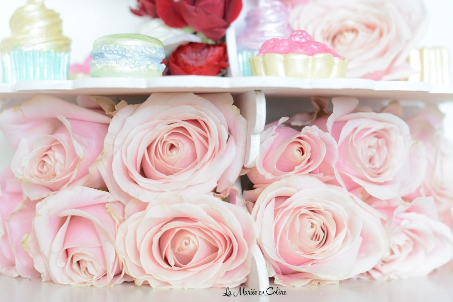 roses mariage