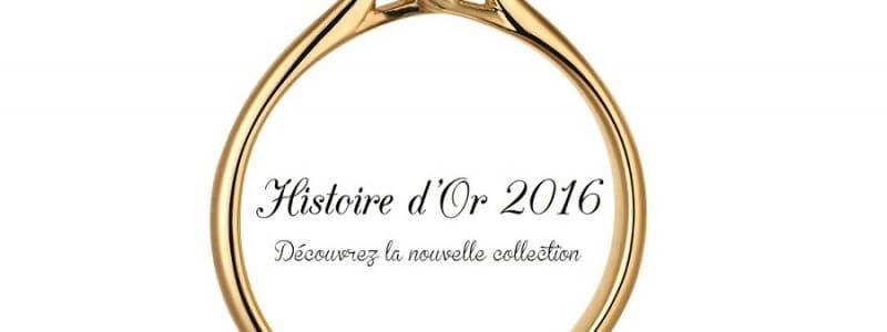 Alliances Mariage : La nouvelle collection Histoire d'Or 2016