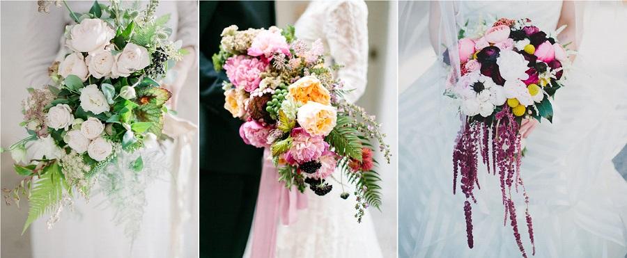 formes bouquet mariée
