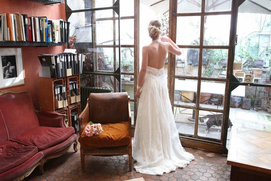 robe de mariée Elsa Gary Romane
