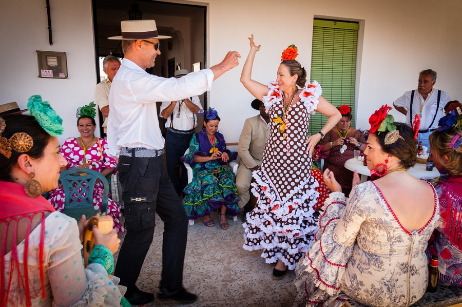 Flamenco andalousie
