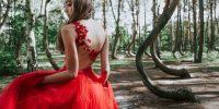 Mode mariage : Une robe de mariée rouge !
