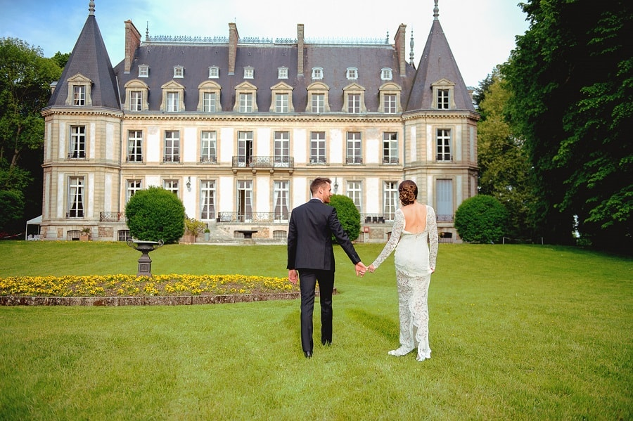 chateau mariage chic