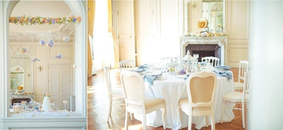 decoration table mariage élégant