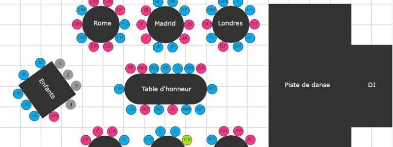 Mes Hotes.com l'outil indispensable pour créer son plan de table
