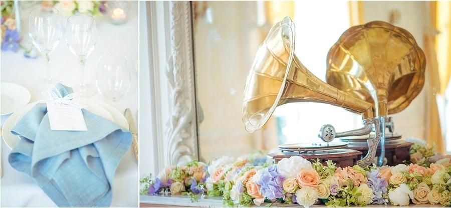 photo décoration mariage romantique
