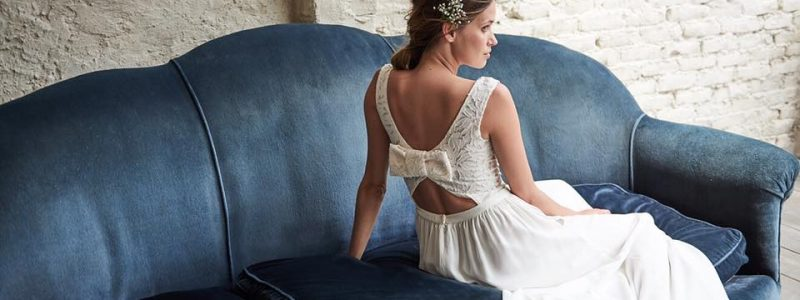 Collections 2018 : 10 robes de mariée avec de jolis noeuds