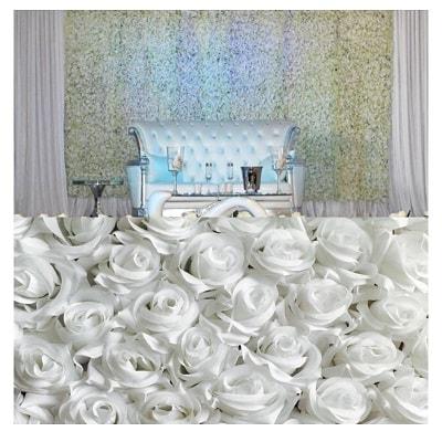 trone décoration mariage élégant