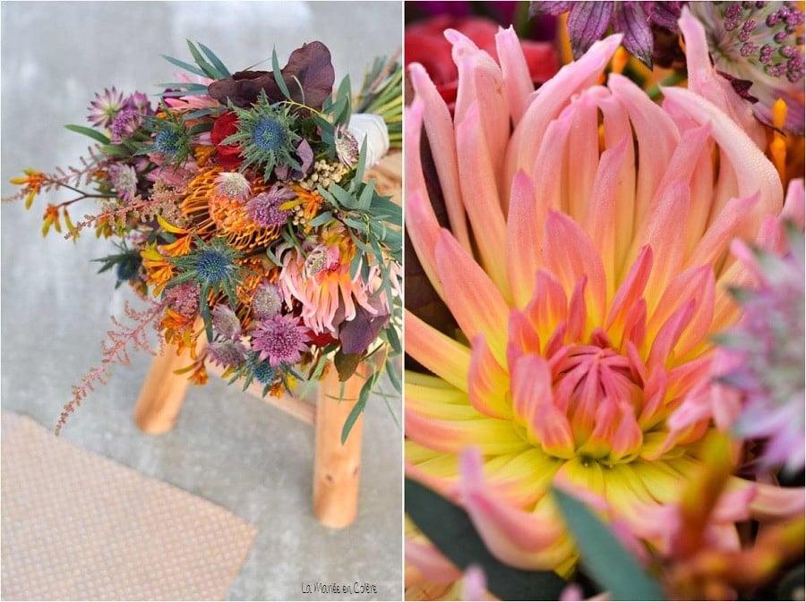 idée bouquet mariage