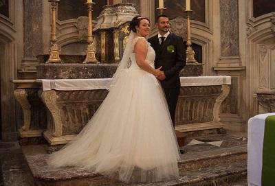 robe de mariée créatrice photo