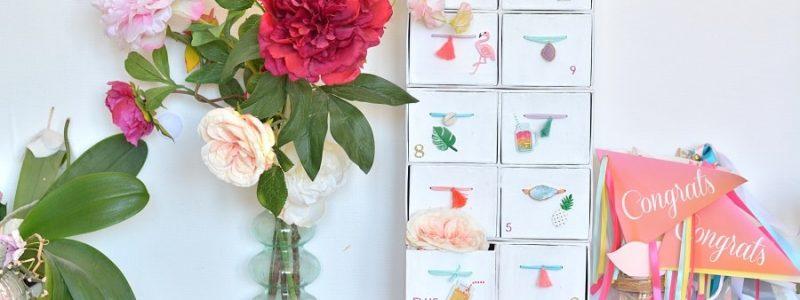 DIY : un calendrier de l'avent pour la mariée
