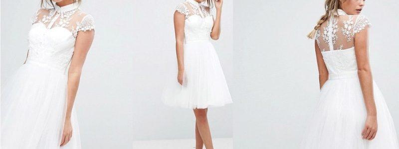 {Shopping} 10 robes de mariée courtes pour la mairie