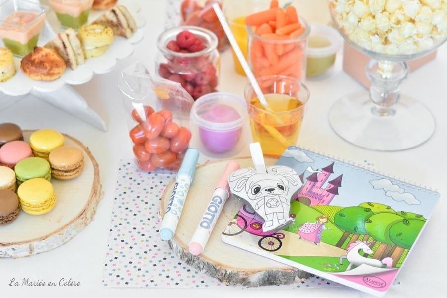 blog animations buffet enfants jeux