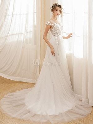 robe de mariée milanoo pas cher