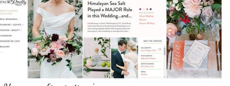 Au revoir Style me Pretty, ZE wedding blog ferme ses portes