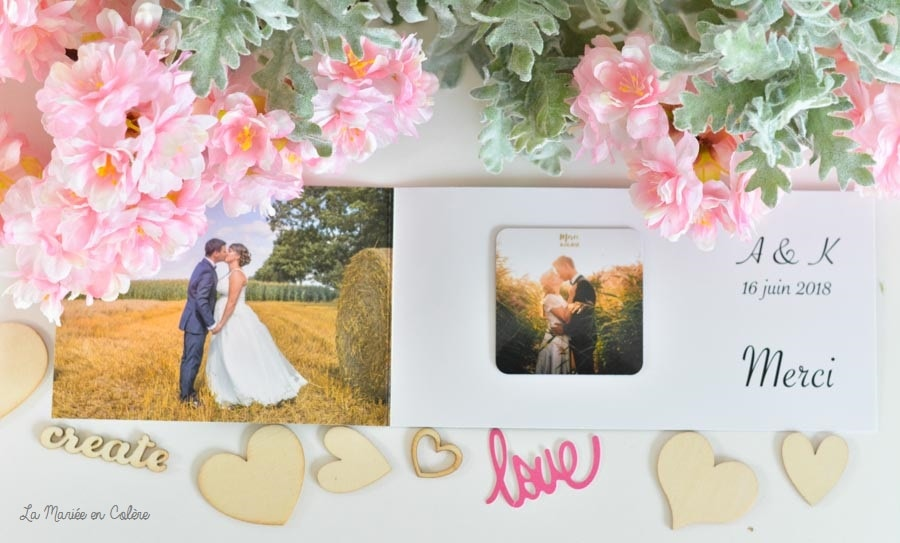 magnet faire-part mariage