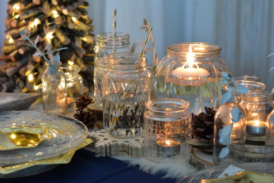 22 idée décoration table noel chic