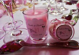 bougies cadeau mariage