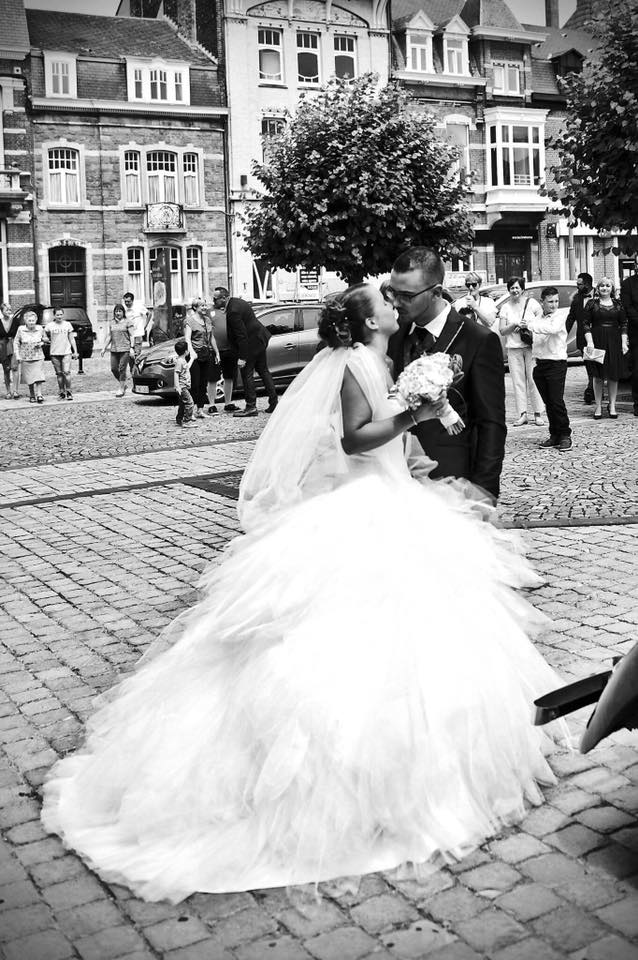 robe mariage princesse tulle volume