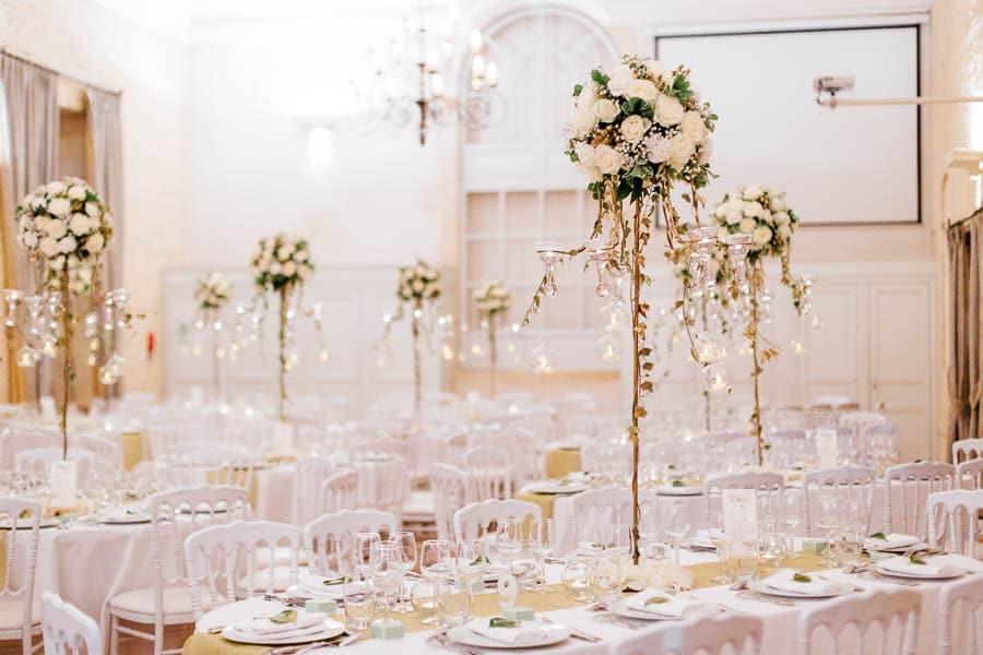 mariage International centres de table