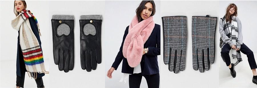 écharppe gants mariage hiver