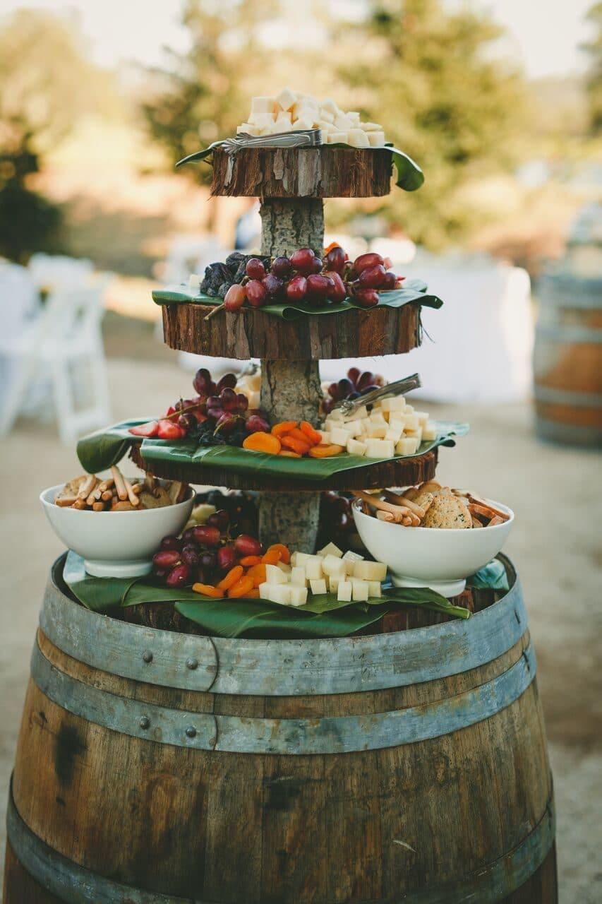 buffet mariage original