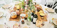 Sharing-Platters : le buffet de mariage original !