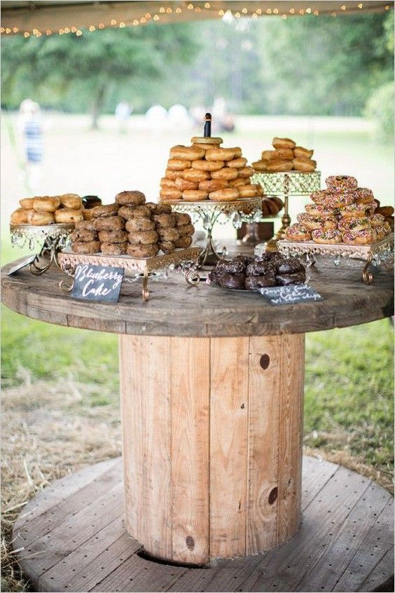 touret buffet mariage