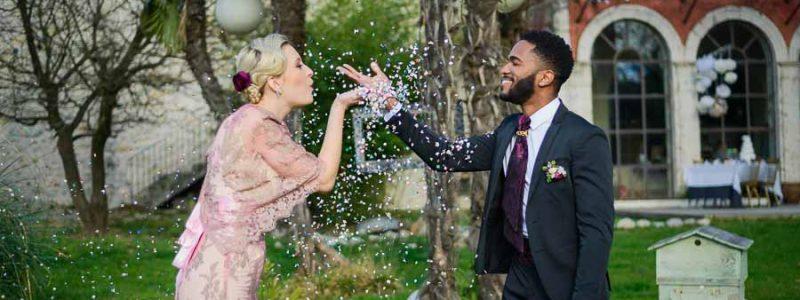 Shooting d'inspiration pour un Mariage rétro-chic