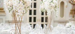 centre de table haut décoration mariage