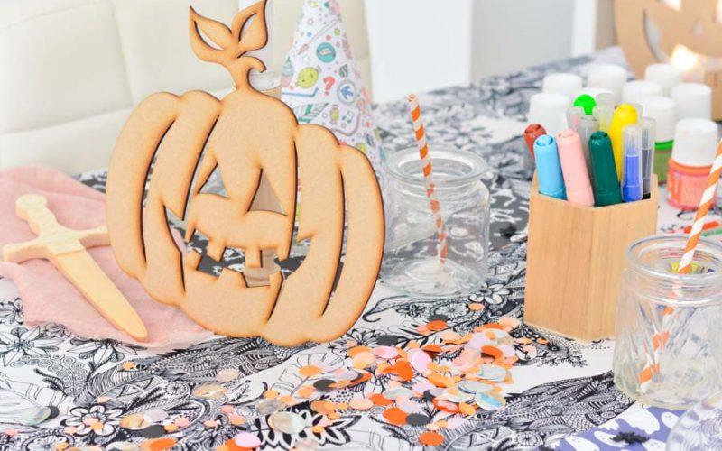 {Déco} L'Halloween DIY des enfants